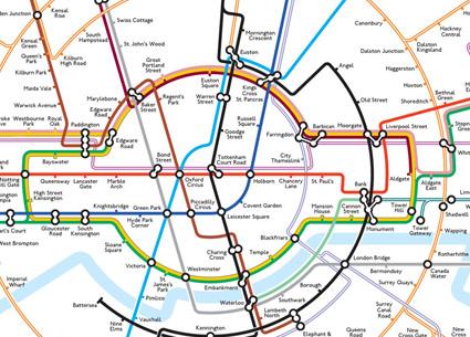 Best London Map.The Best Alternate Maps Of London 1000 Londoners