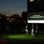 Nine Elms Past and Present 1000 Londoners Premiere at Outdoor screening