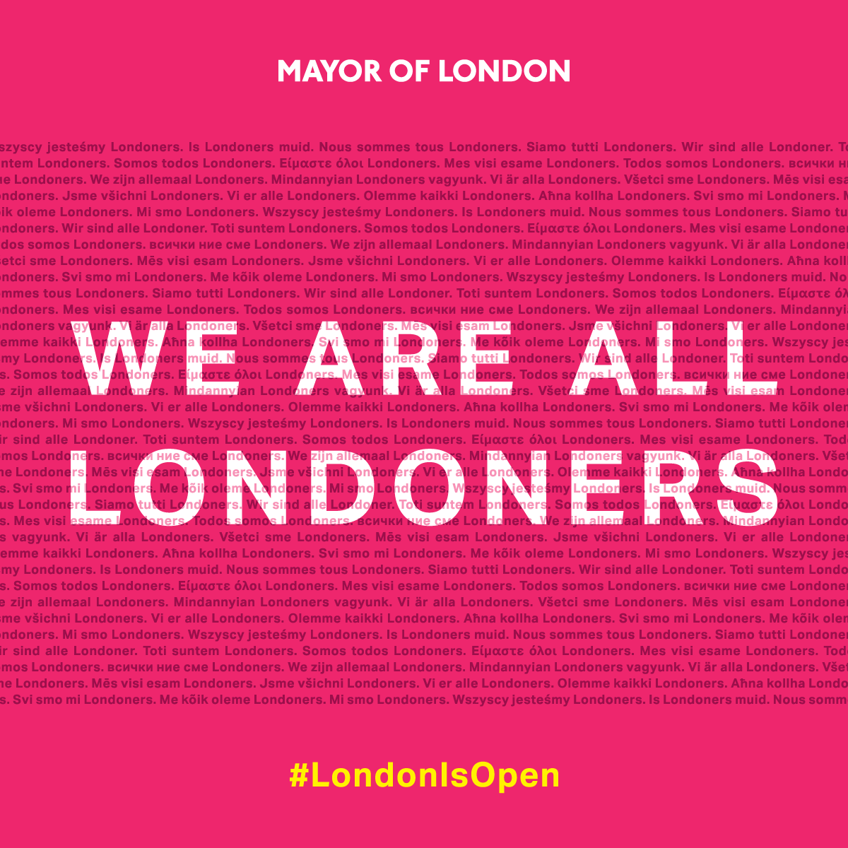 We Are All Londoners: Celebrating our European culture and communities