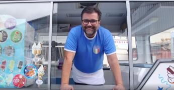 Ignazio the ice-cream man - 1000 Londoners
