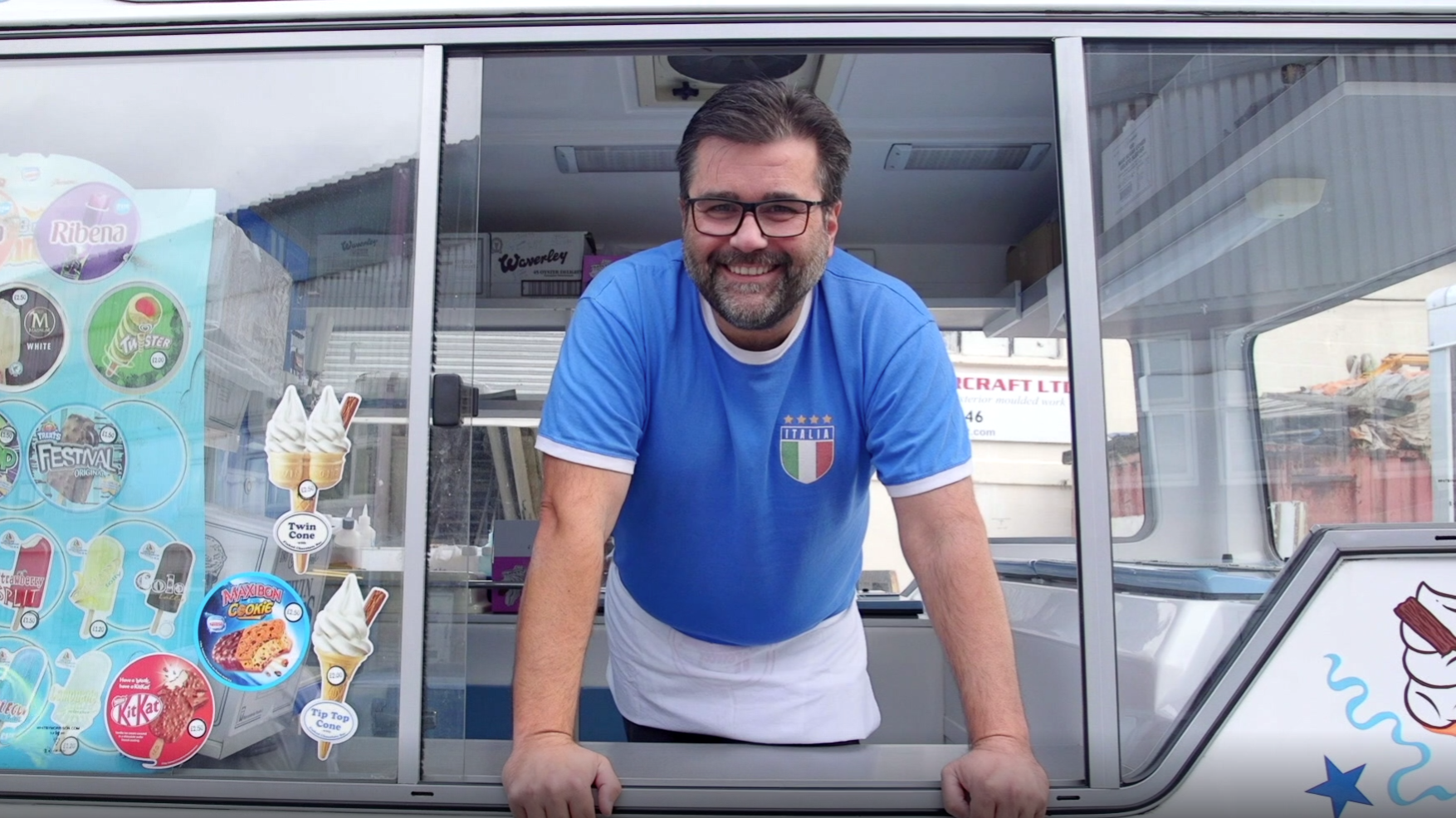 Ignazio the ice-cream man - 1000 Londoners