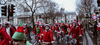 Sincerely Media Santa Bike Run